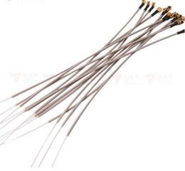 Wholesale Antenna Silver - 50 stücke 2,4G Receiver Antenne für Frsky, Futaba, JR, Hitec, Flysky receiver Ersatz Antenne