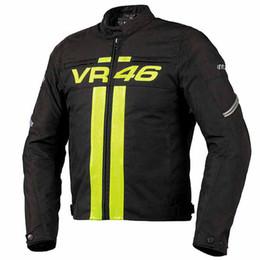 Nuevo 2018 Nuevo paño de buey 600D + PU de cuero Chaquetas de moto Chaqueta de carreras Moto de carreras Chaqueta de joroba con protector Entero desde fabricantes