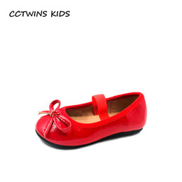 CCTWINS KIDS 2018 Autumn Toddler Fashion Princess Party Shoe Baby Girl  Brand Butterfly Ballet Children Pu Leather Flat GB1954 604498ad2471