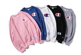 Wholesale Model T Male - Men's T-shirt sleeve head men's sweater spring tide brand cashmere sweater and embroidery with male and female models sweater with
