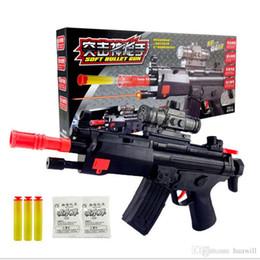 pistolet balle jouet Promotion Dibang -1831 jouets pour enfants pistolet à balle molle + pistolet à eau avec pistolet infrarouge répandre des jouets chauds en gros