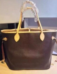 Wholesale Purple Shopping - Hot Fashion High quality designer genuine leather shopping bags women tote bag Shoulder Bags