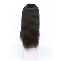 2019 prix à moitié perruque Avant de dentelle malaisienne perruques 8-24inch droite de cheveux humains soyeuse douce droite perruque de dentelle avant avec les cheveux de bébé pré pincé