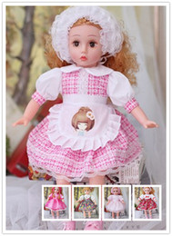 Wholesale Girls Singing - 19 Inch Can Singing and blink Princess lucy doll blinking eyes doll education toys