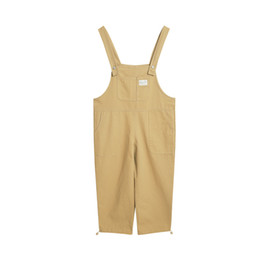 f7961868864 womens jumpsuits 2018 - 2018 new suspenders rompers womens jumpsuit  sleeveless linen overalls wide leg pants