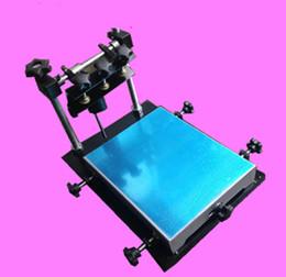 billige bildschirme Rabatt Manueller Schirmdrucker des preiswerten Preises, manuelle Siebdruckmaschine