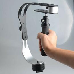 2020 steadicam della macchina fotografica Mini Professional Video Steadycam Stabilizzatore per Digital Compact Camera Phone dslr per Gopro hero sconti steadicam della macchina fotografica