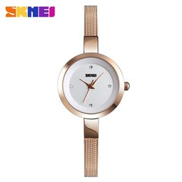 Женщины с водными часами онлайн-SKMEI Elegant Dress Ladies Watch Top  Female Clock Fashion Women's Watches Water Resistant Women Wrist Watch reloj mujer