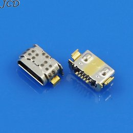 2019 jacks dc JCD 10 unids Micro Conector USB para Huawei P9 Lite G9 VNS-TL00 Para Huawei honor 5A 6X Micro USB Jack DC Conector de enchufe de carga jacks dc baratos