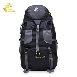 Wholesale Waterproof Molle Backpack - FREEKNIGHT 50L Outdoor Backpack Camping Bag Waterproof Mountaineering Hiking Backpacks Molle Sport Bag Climbing Rucksack +B