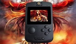 Wholesale Mp5 Videos - GAME PMP V MP3 MP4 FM Media Center 2.2 Inch TFT Game Console PMP MP5 Screen Handheld Built-in 32bit 10000 Games With card Video Game Console