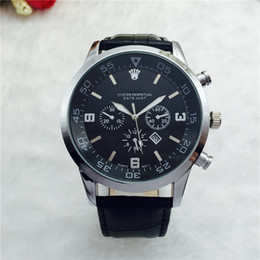 5653dfd94a36 2019 mejores marcas de relojes suizos Best-seller Swiss LeatherWatches  Montre Homme Luxury Brand Hombres