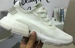Wholesale face golf - casual Outdoor Boots,P.O.D system soft Real explosive Knitting face Trainers Lightweight Breathable Training Sneakers,Sports Running Shoes