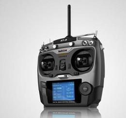 Receptor de canal rc on-line-ORIGINAL Radiolink AT9 2.4 GHz 9CH 9 Transmissor de Canal TX Receptor de Rádio para RC Passatempo RC avião