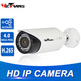 Wholesale Ip Camera Onvif Poe Outdoor - IP Surveillance Camera Outdoor 2.8-12mm Varifocal Lens 30M IR Night Vision Onvif HD H.265 P2P IPC Network IP Camera 4MP POE