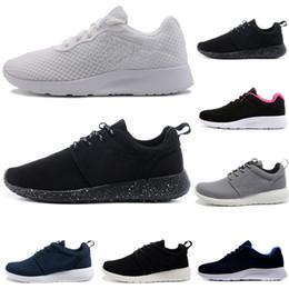 low priced a168a fb7c8 nike roshe run one New tanjun london uomo donna scarpe da corsa 1.0 3.0  triple nero bianco con simbolo rosso rosa grigio blu scarpe da ginnastica  scarpe da ...