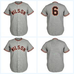 cf721fff9 road jerseys Canada - Wilson Tobs 1958 Road Jersey Vintage Cooperstown  Baseball Jersey All Stitched Embroidery