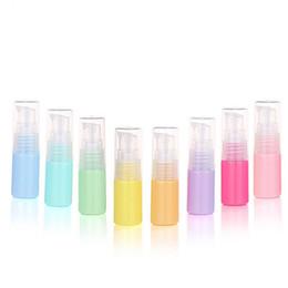 2019 bouteilles de pulvérisateur à échantillon de parfum En gros 10 ml en plastique vaporisateur de parfum bouteilles atomiseur recharge de parfum contenants d'échantillons cosmétiques pulvérisateur bouteille pompe bouteilles de pulvérisateur à échantillon de parfum pas cher
