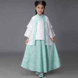 952bfdef4 Traje chino de la ropa de Hanfu Ropa de Cosplay para bebés Ropa para niños  y niñas Uniformes escolares antiguos Escenario Estudio fotográfico Disfraz  niño