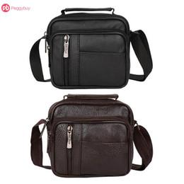cfeef3375bed Vintage Men s Crossbody Bag Leather Men Bag Travel Shoulder Bags Casual  Business Leather Mens Messenger Bags bolsas male
