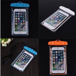 Téléphone portable transparent léger sac étanche PVC natation à la dérive téléphone portable sac plongée téléphones mobiles ensembles ? partir de fabricateur
