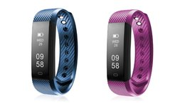 Wholesale Reminder Alarm Iphone - Fitness Tracker ID115 HR Heart Rate Monitor Smart Bracelet Activity Monitor Band Alarm Clock Wristband For Xiaomi iPhone Samsung