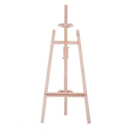 paintings artists Promo Codes - 150cm  59 Inch Durable Art Artist Wood Wooden Easel Sketch Drawing Stand NZ Pine for Painting Caballete De Madera Croquis Stand