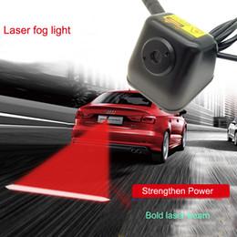 Anti-colisão on-line-Carro Anti-colisão LEVOU Luzes de Nevoeiro A Laser Lanterna Traseira Anti-nevoeiro Parada de Estacionamento Lâmpadas de Freio Luz de Advertência Da Cauda Do Carro Styling feixe de luz