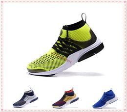 Wholesale Fly Online - Free Shipping Fahison Mens Presto Ultra Running Shoes Fly Presto Boots Trainers Athletic Sneakers Sale Online Size 40-46