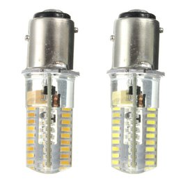 Wholesale Marine Room - New Arrival BAY15D 1157 72 LED 3014 SMD Silicone Crystal Marine Lights Boat Lamp Bulb AC DC12-24V Warm Pure White
