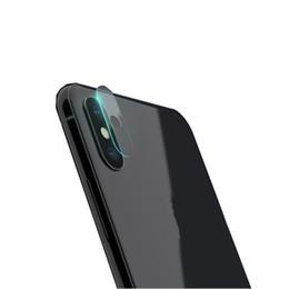 Objectifs de caméra de film en Ligne-Film de protection d'écran en verre trempé flexible pour iphone X pour caméra arrière