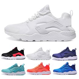 Wholesale Inkjet Pvc - 2016 New Arrive Air Huarache Ultra Running Shoes Red inkjet paper Huaraches Men And Women Sneakers Fashion Huraches Sports Shoes Size 36-46