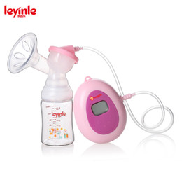 Wholesale electric breast pumping - Food grade silicone breastpump, BPA free strong suction electric electronic feeding breast pumps, portable breastfeeding pump