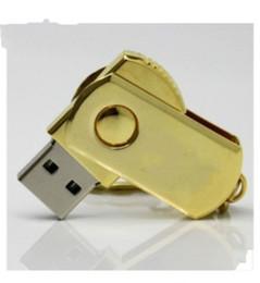 logo personalizzato flash drive Sconti Il codice promozionale della penna USB 2.0 dell'azionamento dell'istantaneo dell'istantaneo 64GB della chiavetta USB del metallo della parte girevole di promozione guida il pacchetto al minuto libero DHL 100pcs