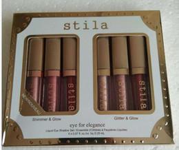 Nouvelle Marque Maquillage Yeux Pour L'Élégance ensemble Shimmer Glitter Liquide EyeShadow 1set = 6 pcs Voyage Ombre À Paupières Ensemble palettes ? partir de fabricateur