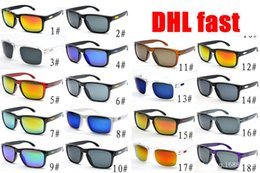 Wholesale round oval nails - DHL 50pcs Popular HOLBROOK 9102 meters nail square sunglasses outdoor sports riding glasses Europe and the United States men and women
