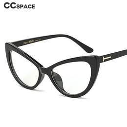 afd04afcfca 2019 occhiali ottici delle donne Cat Eye Glasses Frames Women Trending  Styles Optical Fashion Computer Glasses