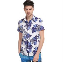 Shirt hawaii online-Camicia da uomo Hawaii Camicia da viaggio Hawaii