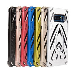 Wholesale Iphone Offers - Shockproof Armor Case Phantom Series defender case Special Offer TPU PC Armor Case for Samsung Note 8 S6 S7 edge 2In1 Back Cover