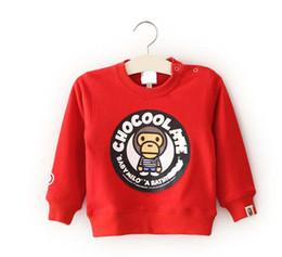 2018 nueva marca de ropa para niños niño gráficos sudadera bebé niño primavera otoño niñas informal cuello redondo mono Casual Top envío gratis desde fabricantes