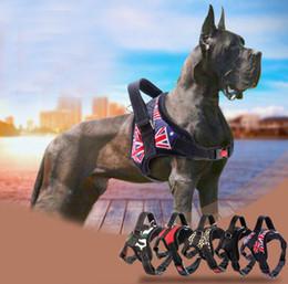 Canada Nylon Dog Harness Pas de traction Chiens Harnais Contrôle Rapide Service Animaux Gilet Pour La Formation Medium Large Chiens de Travail Pitbull Husky Offre
