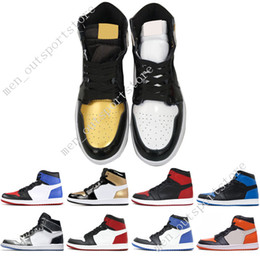 1s OG 1 top 3 mens basketball shoes Homage To Home Banned Bred Toe Chicago  Royal Storm Blue Shattered Backboard Fragment men sports sneakers 370ab139f