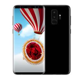 Wholesale Chinese Dual Sim Phone - Goophone S9 plus S9+ 6.2inch HD cell phones MT6580P Quad Core 1G 8G Show 4G LTE 4G 64GB Unlocked Smartphones