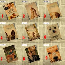 Canada Film Un but du chien Mat Kraft Papier Affiche Bureau Cadeau Chambre Salle À manger Décor À La Maison sticker mural Conception Offre