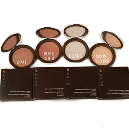 Wholesale Hot Bronzer - Hot Sale Becca Shimmering Skin Perfector 4 Shades Retail Creamy Pressed Powder Bronzer & Highlighter Free Shipping Drop Shipping Makeup
