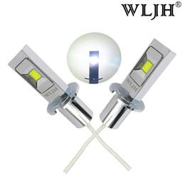 Wholesale led lights load resistor - WLJH White H3 LED Bulbs For Car Truck Fog Lights Daytime Running Lights DRL Lamps LED 50W Load Resistors Decoders AC 9V -30V