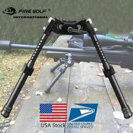 FIRE WOLF NEW LRA Light Táctico Bipod Bifod largo Bifod para caza Rifle Scope Envío gratis desde fabricantes