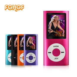 Wholesale Quality Playing Cards - High Quality 1.8 inch support 32GB mp3 player Music playing 4th gen with fm radio video player E-book mp3 music players 9 color