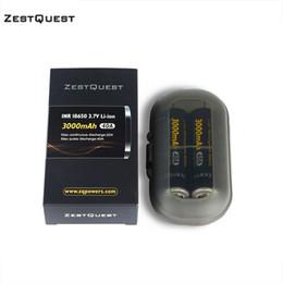 Canada Zest Quest 18650 Batterie 3000mAh 3.7V 40A Li-ion rechargeable Batterie ZQ 18650 mise à jour pour les cigarettes électroniques 100% d'origine Offre