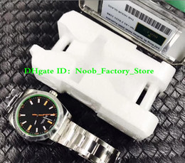 Melhor safira azul on-line-2 cores fábrica AR 116400 GV Aço Inoxidável Melhor Edição Blue Dial Saphire Verde no aço inoxidável S10 SH.3131 movimento Safira Azul Dial Verde